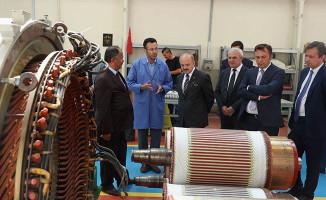 Vali Çakacak, TÜLOMSAŞ Lokomotif Fabrikası'nı İnceledi