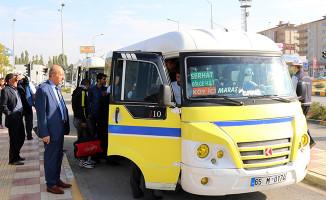 Van'da Okul Servisleri ve Toplu Taşımaya Sıkı Denetim