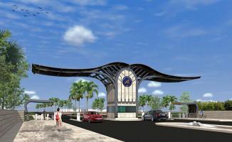 Akdeniz Üniversitesi'nin Meltem Kapısı Yenileniyor