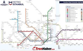 İstanbul Metro ve Metrobüs Hatları, Metrobüs Durakları, Metro durak isimleri