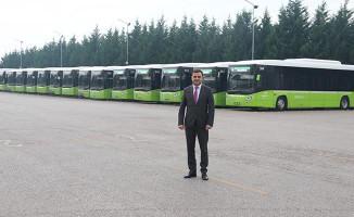 Kocaeli'nin Çevreci Otobüsler Tasarruf Kaynağı Oldu