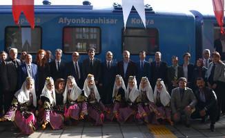 Sosyal Kooperatif Treni 10. Durağında Afyon'a Geldi