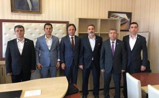 Ulaştırma Memur-Sen'den TCDD Genel Müdür Yardımcısı Uygun'a Ziyaret
