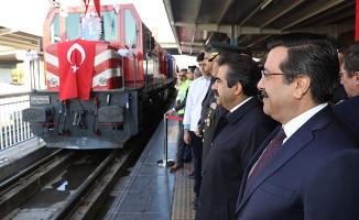 Atatürk'ün Diyarbakır'a Gelişi Diyarbakır Gar'da Kutlandı