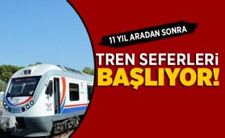 Isparta-Burdur-İzmir Tren Seferleri (Göller Ekspresi) Başlıyor