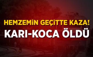 Kayseri'de Hemzemin Geçitte Kaza! 2 ölü