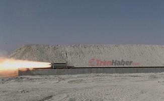 TÜBİTAK SAGE Süpersonik Raylı Test Hattı Açıldı