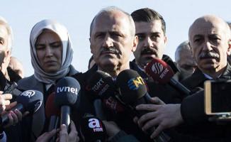 Bakan Turhan'dan tren kazası hakkında açıklama