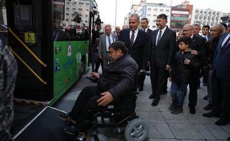 Denizli'de, Dünya Engelliler Günü'nde Farkındalık Yürüyüşü
