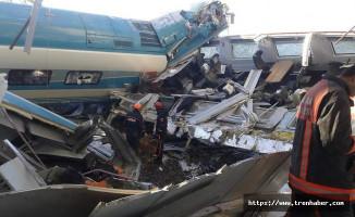 Hızlı Trenin Kaza Anı Kameralara Böyle Yansıdı