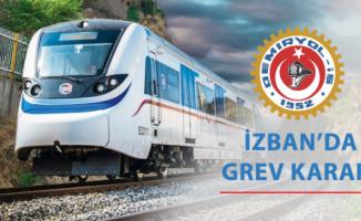İzmir'de İZBAN Grevi Başladı