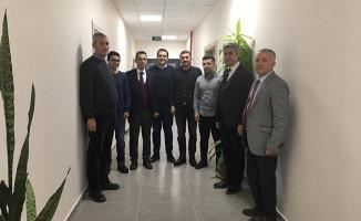 Bölge Müdürü Koçbay, Demiryolu Bakım Müdürlüğü Hizmet Binasını İnceledi