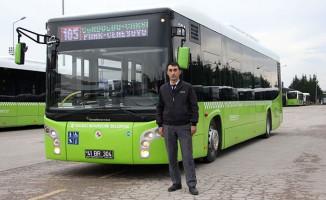 Otobüs Şoföründen Helal Olsun Dedirten Davranış