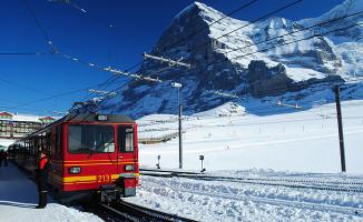 Tren seferlerine kar engeli