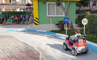 Alanya Trafik Eğitim Parkında 2. Dönem Başladı