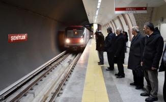 Ankara'da İki Ayrı Metro Hattı Birleşti