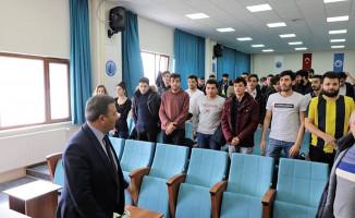 Bölge Müdürü Sivri Öğrenciler İle Biraraya Geldi