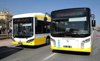 Konya'da Şehir İçi Otobüs Hatlarına Bir Yenisi Daha Eklendi