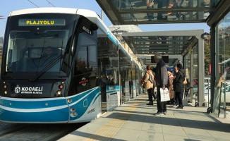 Sekapark-Plajyolu Tramvay Seferleri Bugün Başlıyor