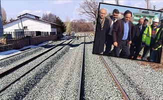 TCDD Genel Müdürü Uygun Samsun-Kalın Demiryolu Hattını İnceledi