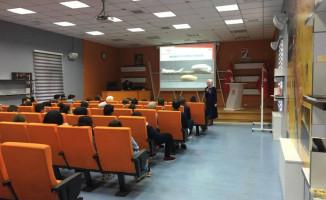 TÜVASAŞ'ta Stajyer Öğrencilere Yönelik Eğitim Verildi