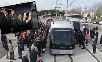 Varsak-Otogar Tramvay Hattında Test Sürüşü Yapıldı