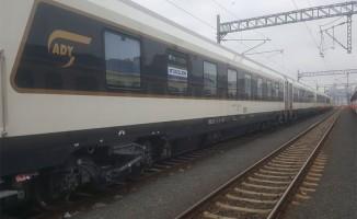 Azerbaycan Treni Marmaray'dan Geçiş Yaptı