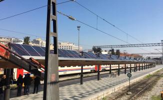 Basmane Gar'a Güneş Enerji Santrali Kuruluyor