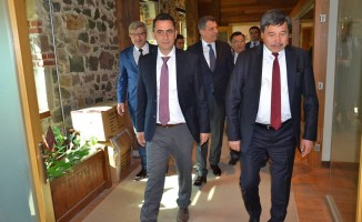 Genel Müdür Arıkan'dan Koçbay'a Ziyaret