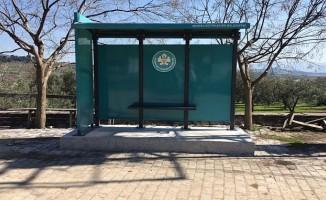 Soma'da Otobüs Durakları Yenilendi