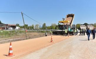 Bursa Kırsalında Yol Çalışmaları Sürüyor