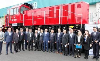 Milli Elektrikli Manevra Lokomotifi Eurasia Rail 2019'da