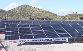 TCDD'nin İlk Güneş Enerji Santrali Açıldı