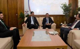Başkan Kocaman'dan TCDD Genel Müdürü Uygun'a Ziyaret