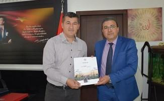 TCDD 7. Bölge Müdürü Adem Sivri'den Atlı'ya Ziyaret