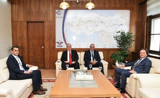 Bölge Müdürü Koçbay'dan Genel Müdür Uygun'u Ziyaret