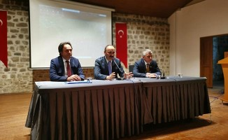 Çerkezköy Kapıkule Demiryolu Projesi hakkında bilgilendirme toplantısı yapıldı