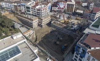 Gebze Darıca Metro Hattında İstasyon Çalışmaları Devam Ediyor