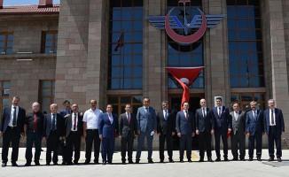 Uygun ve Peradze'nin Erzurum Garı ve Müzesi Ziyareti