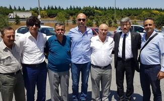 YOLDER Çorlu'da Üyelerini Yalnız Bırakmadı