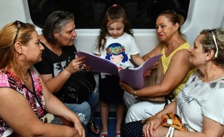 Miniklerden, İZBAN'da Duyarlılık Çağrısı