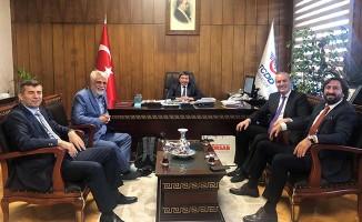 TÜRSAB Heyeti Genel Müdür Arıkan'ı Ziyaret Etti