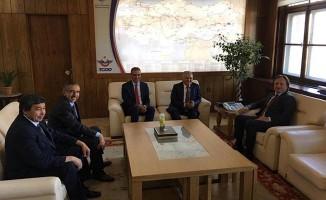 Başkan Büyükkılıç'tan TCDD'ye Ziyaret