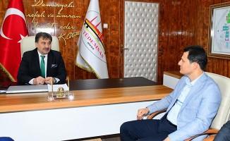 Genel Başkan Çalışkan, TÜDEMSAŞ'ı Ziyaret Etti