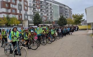 """""""Haydi Çocuklar Bisikletle Okula"""" Etkinliği"""