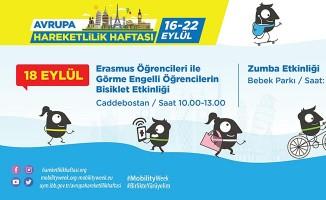 """İstanbul'da """"Engelleri Aşmak için Birlikte Pedallıyoruz"""" Etkinliği"""