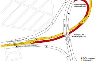 İzmirliler Dikkat! Mürselpaşa Bulvarı'ndaki trafik düzenlemesi