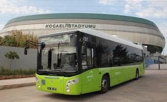 Kocaeli'de Milli Maça Özel Otobüs Hatları