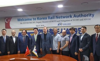 TCDD Heyeti Güney Kore'yi Ziyaret Etti