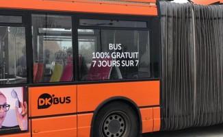 Toplu Taşımanın Bedava Olduğu Kent!
